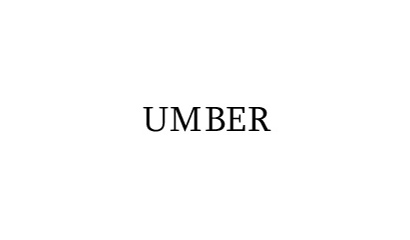 umber